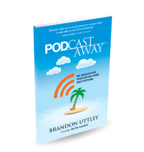 Front cover of the book Pod Castaway by Brandon Uttley